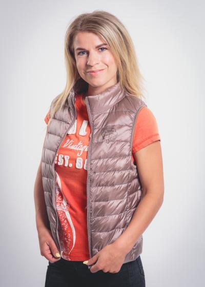 Falco Vest Women Beige
