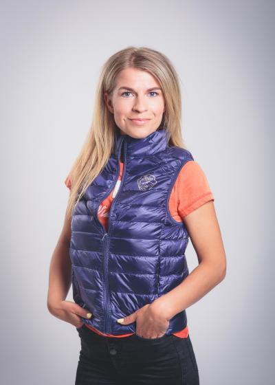 Falco Vest Women Navy Blue